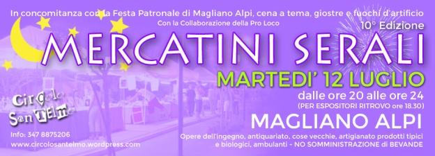 Mercatini Serali Magliano Alpi